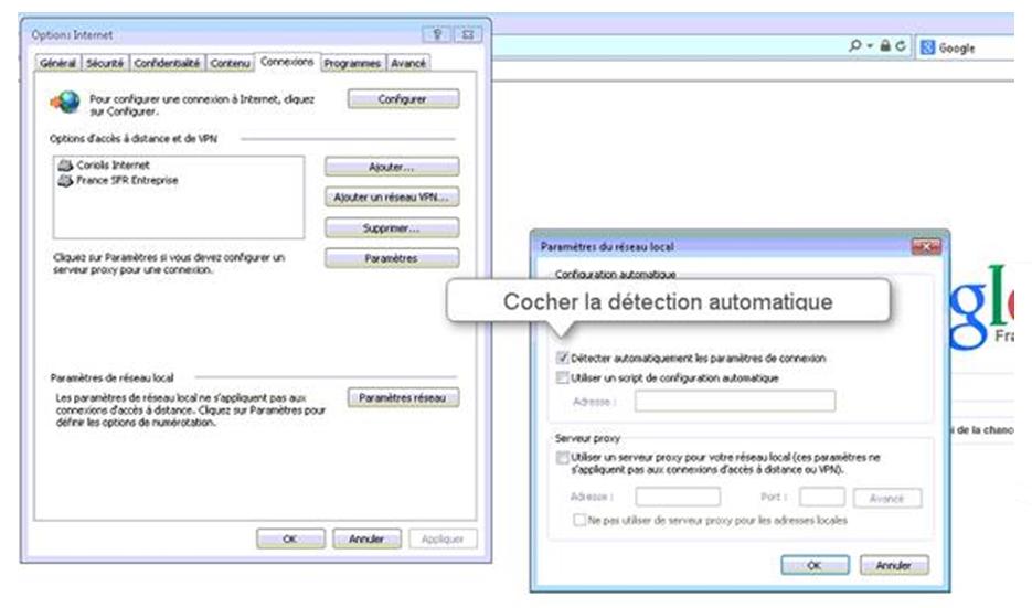 Agent - Configuration IE