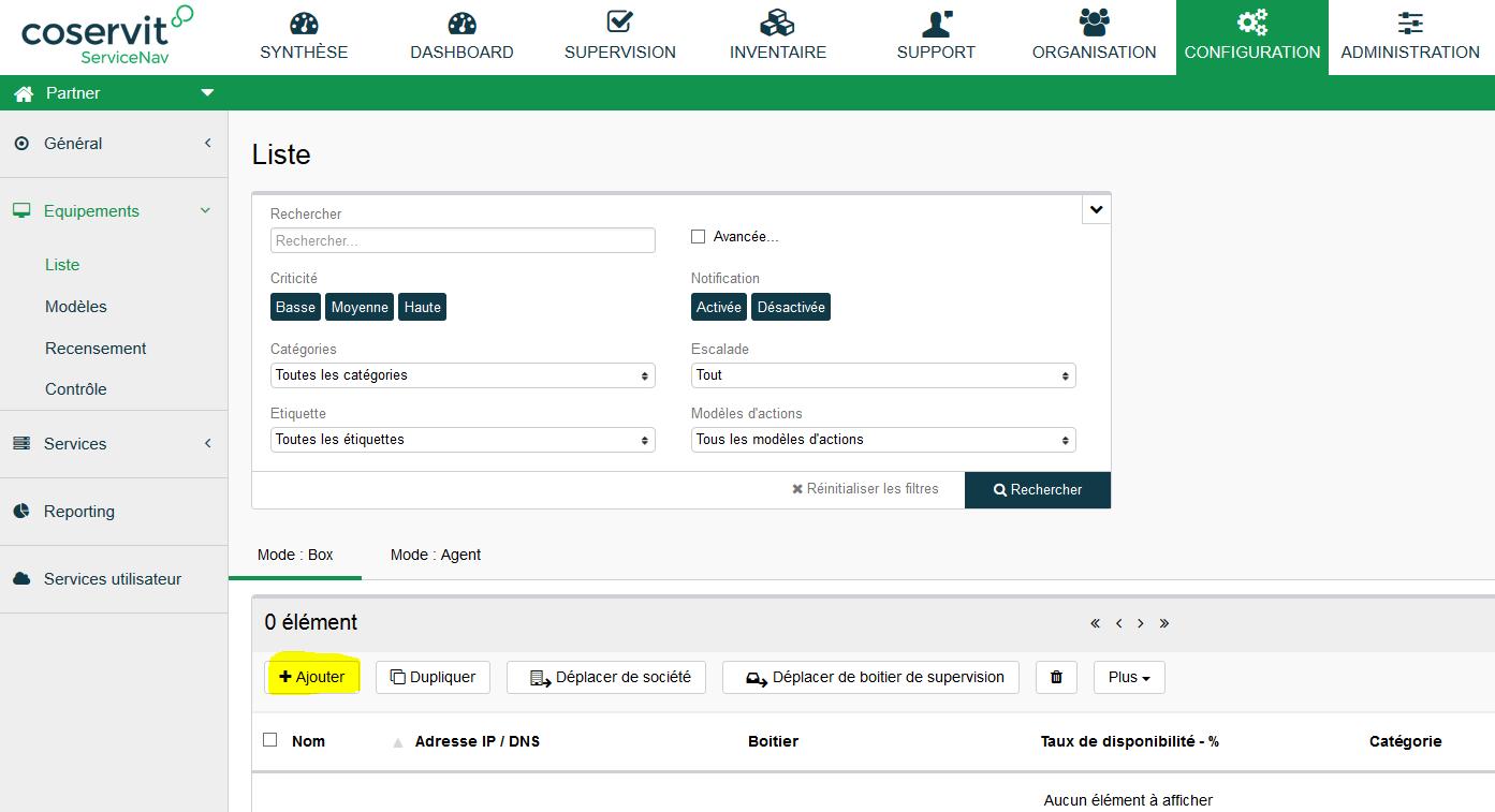 ServiceNav-Configuration-Equipement-Liste-AjoutEquipement
