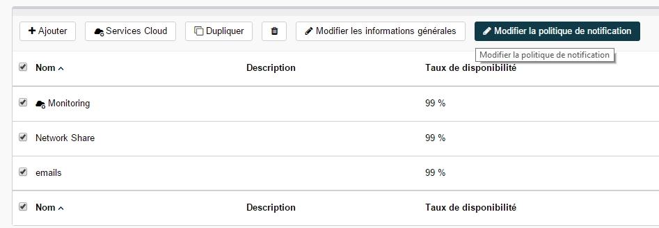 ServiceNav - Services utilisateurs - modifier la politique de notification en masse