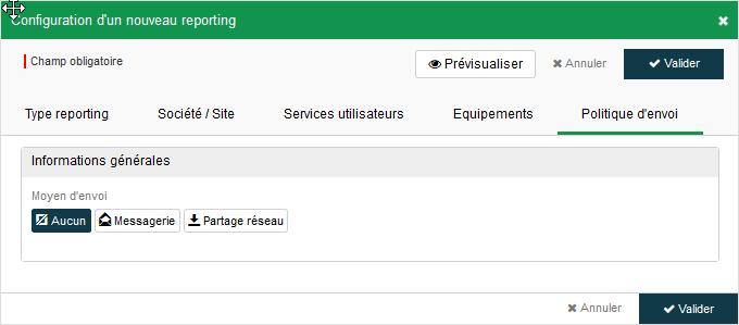configuration-reporting-politique envoi
