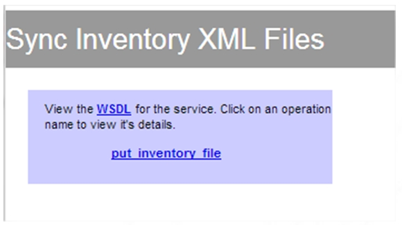 Inventaire - Test web