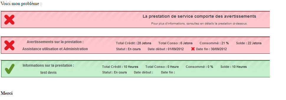 Email - Complet