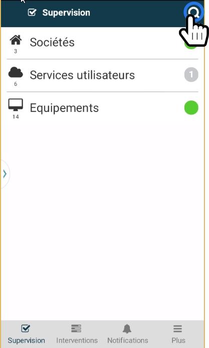 Comment Faire Une Recherche Avec Lapplication Mobile Servicenav