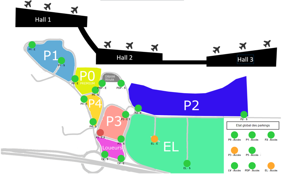 , The supervision of connected objects in urban environment: The case of airport car parks.