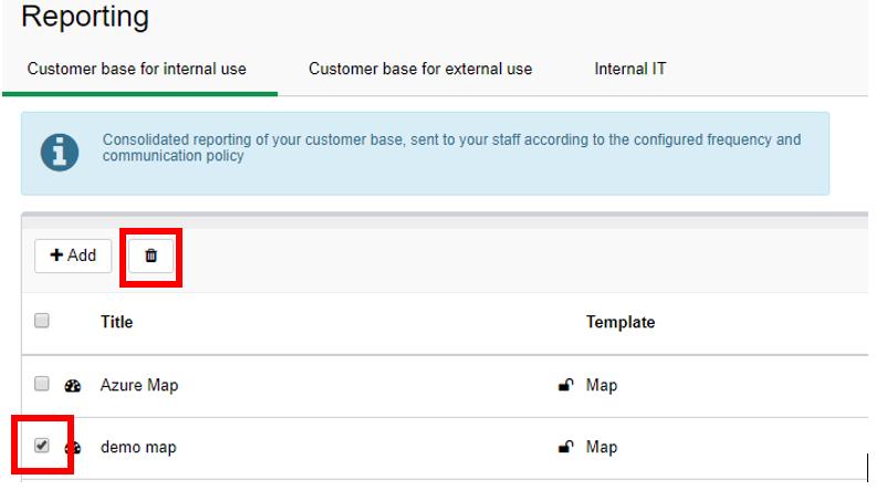 Configure A Map Dashboard ServiceNav - Map policy template