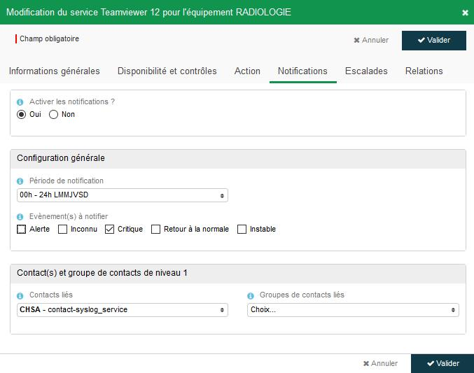 Syslog Fiche service unitaire notification