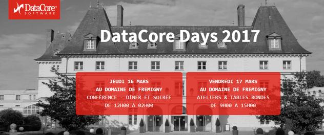 Coservit, partenaire des DataCore Days - 16 et 17 mars 2017