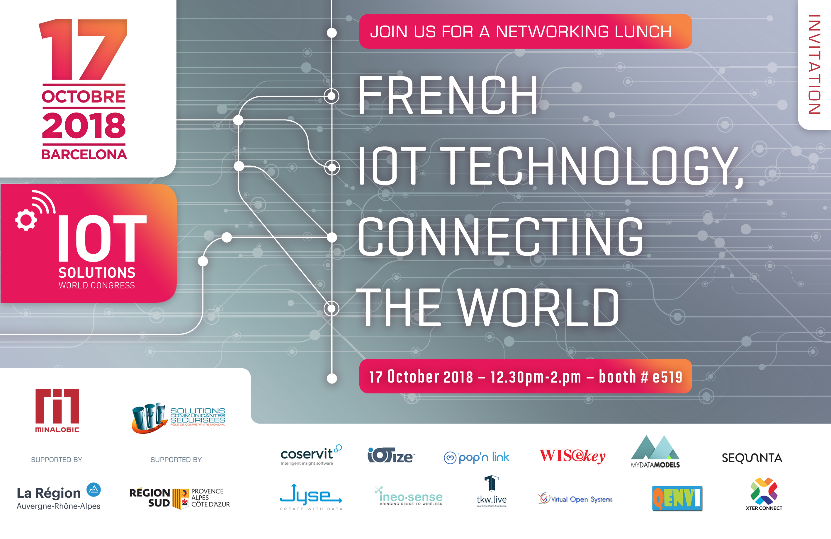 Coservit at IoT Solutions World Congress