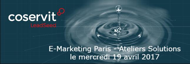 E marketing paris 2017 LeadSeed